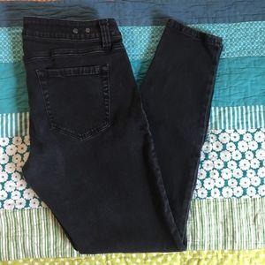 CAbi Super Skinny Black Jeans 8
